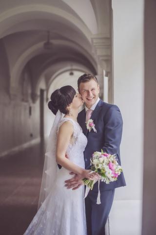 Нежные свадебные фотографии