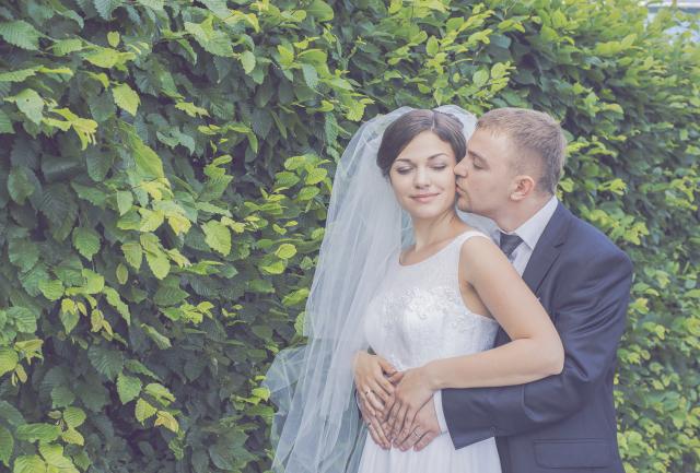 Свадебный фотограф весной